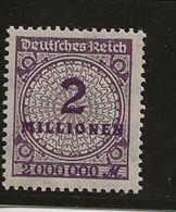 Timbre De 1923-Inflation. - Allemagne