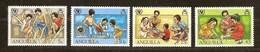 Anguilla 1981 Yvertn° 412-415 ***  MNH Cote 4,20 Euro Unicef - Anguilla (1968-...)