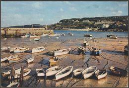 Harbour Boats, St Ives, Cornwall, 1961 - J Arthur Dixon Postcard - St.Ives