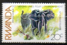 RWANDA   Eléphants 1982 N° 1071 - Rwanda