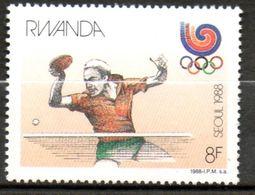 RWANDA   J O Séoul 1988 N° 1265 - Rwanda