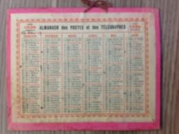 Almanach Des Postes Et Des Télégraphes 1936 Année Bissextile - Calendars