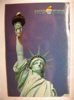 Carte Postal Etats Unis New York - Statue Of Liberty ( Couleur Oblitérée 2 Timbres Wood Duck) - Statue De La Liberté