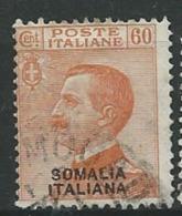 Somalie Italienne -  Yvert N° 94 Oblitéré  -  Cw30713 - Somalia