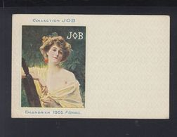Carte Postale Collection Job Cigarettes (10) - Künstlerkarten