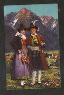 VAL PUSTERIA ( BZ ) - Costumi Tradizionali / Folklore ( Spedita 1939 ) Illustrata - Bolzano