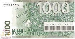LEBANON 1.000 LIVRES 2004 PICK 84 UNC - Liban