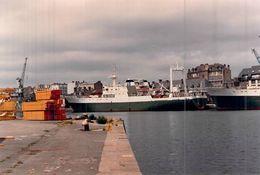 "Photo Moderne Bateau Identifié "" Victor Pleven "" 1971 Gdansk Pologne - Boats"