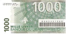 LEBANON 1.000 LIVRES 2004 PICK 84 UNC - Libano