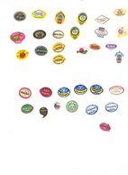 Etiquettes De Fruits : Peches Et Poires Lot 1 - Fruit Labels Peaches And Pears Lot #1 - Fruits & Vegetables