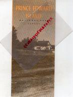 CANADA- RARE DEPLIANT TOURISTIQUE PRINCE EDWARD ISLAND-NATIONAL PARK-OTTAWA-1949-GULF OF ST LAWRENCE- - Dépliants Touristiques