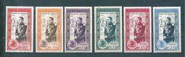 Monaco Timbre De 1950  N°338 A 343 Petite Charnière Sur 342/43 Cote 13€ - Monaco