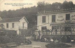 CPA St-Jean-les-Deux-Jumeaux Hôtel Beau-Rivage - France