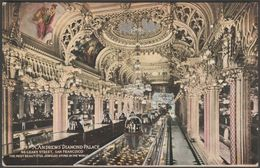 Andrews' Diamond Palace, San Francisco, California, 1918 - Bardell Postcard - San Francisco