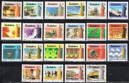 DO 6046 ZIMBABWE  XX  YVERT NRS 83/104 ZIE SCAN - Zimbabwe (1980-...)