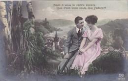 Couple In Love, Amoureux, Faut Il Vous Le Redire Encore Que C'est Vous Seule J'adore? (pk43604) - Couples