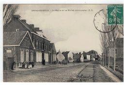 GRAND-BAISIEUX - La Mairie Et Les Ecoles Communales - E.C. - Autres Communes