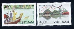 Vietnam Viet Nam MNH Perf Stamps 1998 : Vietnamese Legend / Costume / Dragon Boat / Lake / The Huc Bridge (Ms788) - Viêt-Nam