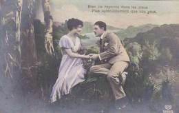 Couple In Love, Amoureux, Rien Ne Rayonne Dans Les Cieux Plus Spiendidement Que Vos Yeux  (pk43608) - Couples