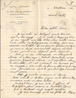 31 - HAUTE GARONNE - CAZERES - FACTURE/LETTRE - 1934 - HOTEL LAFFONT / G.SOULE - France