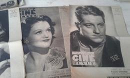 Lot De 6 Ciné Revue 1944 - 2 En Très Bon état Et 4 Dans Un état Moyen - Boeken, Tijdschriften, Stripverhalen