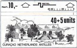 Curacao  Phonecard Netherland Antilles - 40+5unit  - Superb Fine Used - Antilles (Netherlands)