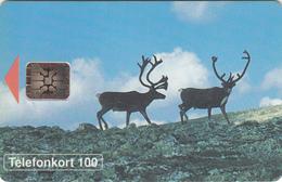 Sweden  Phonecard - Reindeer 100u  - Superb Fine Used - Antilles (Netherlands)