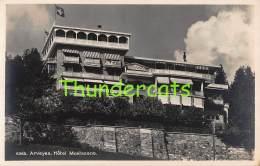 CPA  FOTO PHOTO SUISSE ARVEYES HOTEL MONTESANO - NE Neuchâtel