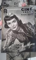 Lot De 50 Ciné Revue Année 1949 - Très Bon état-rare Dans Cet état - Boeken, Tijdschriften, Stripverhalen