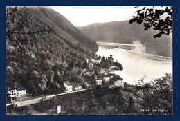 Figino (Barbengo). Saluti Da Figino. Lago Di Lugano. 1958 - TI Tessin