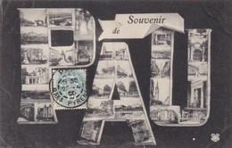 PAU - PYRENEES ATLANTIQUES - (64)  - CPA MULTIVUES 1906. - Pau