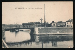 VILVOORDE = LE PONT DU CANAL - Vilvoorde