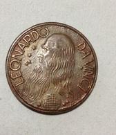 TOKEN JETON GETTONE LEONARDO DA VINCI - Monétaires/De Nécessité