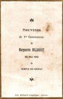 TEMPLE DE COGNAC  1 ERE COMMUNION 26 /05 /1912 - Devotion Images