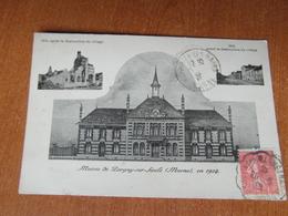 PARGNY Sur SAULX   Mairie En 1924   51 Marne - Pargny Sur Saulx