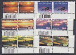 Ross Dependency 1999 Night Skies 6v (pair, Corner, Code) ** Mnh  (37780) - FDC