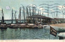 Cuba - Boat Landing - Havana - Postcards