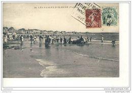 SABLES D'OLOBBE LA PLAGE BARQUE MIS A L'EAU - Sables D'Olonne