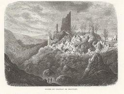 HUY/BEN-AHIN : Ruines Du Château De Beaufort - Estampes & Gravures
