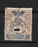 1903 - N° 81 *MH - 50 Ans De La Présence Française Surchargé - Oblitérés