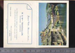 Calendrier - Petit Format - 1964 - Patisserie Travouillon Au Mans - Calendriers