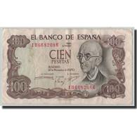 Billet, Espagne, 100 Pesetas, 1970, 1970-11-17, KM:152a, TB - [ 3] 1936-1975 : Regency Of Franco