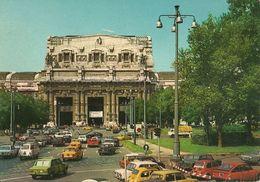 Milano (Lombardia) Stazione Centrale, Railway Central Station, Gare Centrale, Zentral Bahnhof, Auto D'Epoca, Old Cars - Milano (Milan)