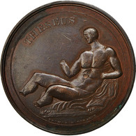 United Kingdom , Medal, Georges IV, Elgin, Théseus, Thomason, TTB+, Bronze - Royaume-Uni