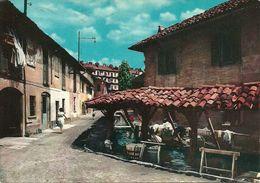 Milano (Lombardia) Vicolo Lavandai, Alzaia Naviglio Grande, Le Ultime Lavandaie - Milano (Milan)