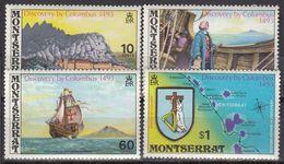 Montserrat - COLUMBUS / SHIP / MAP 1973 MNH - Montserrat