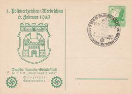 Allemagne Entier Postal Illustré 1938 - Postwaardestukken