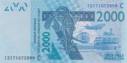 BILLET 2000 FRANCS BCEAO BURKINA FASO NEUF   VOIR SCAN - West African States
