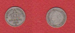 20 Centimes 1866 A  -  état  TB - France