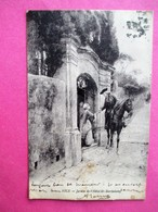 06 NICE Jardin De L' Hotel Saint Barthelemy - Voyagé En 1918 - Otros
